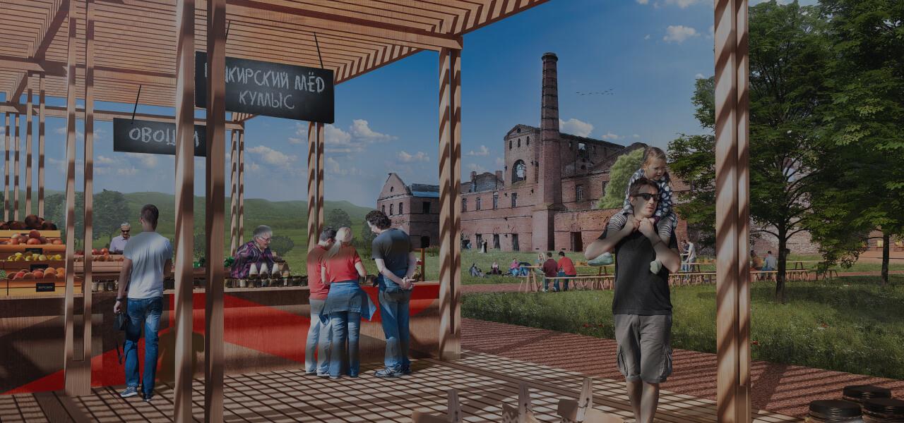 «Воскресенский завод»: арт-центр наруинах старого предприятия вБашкортостане