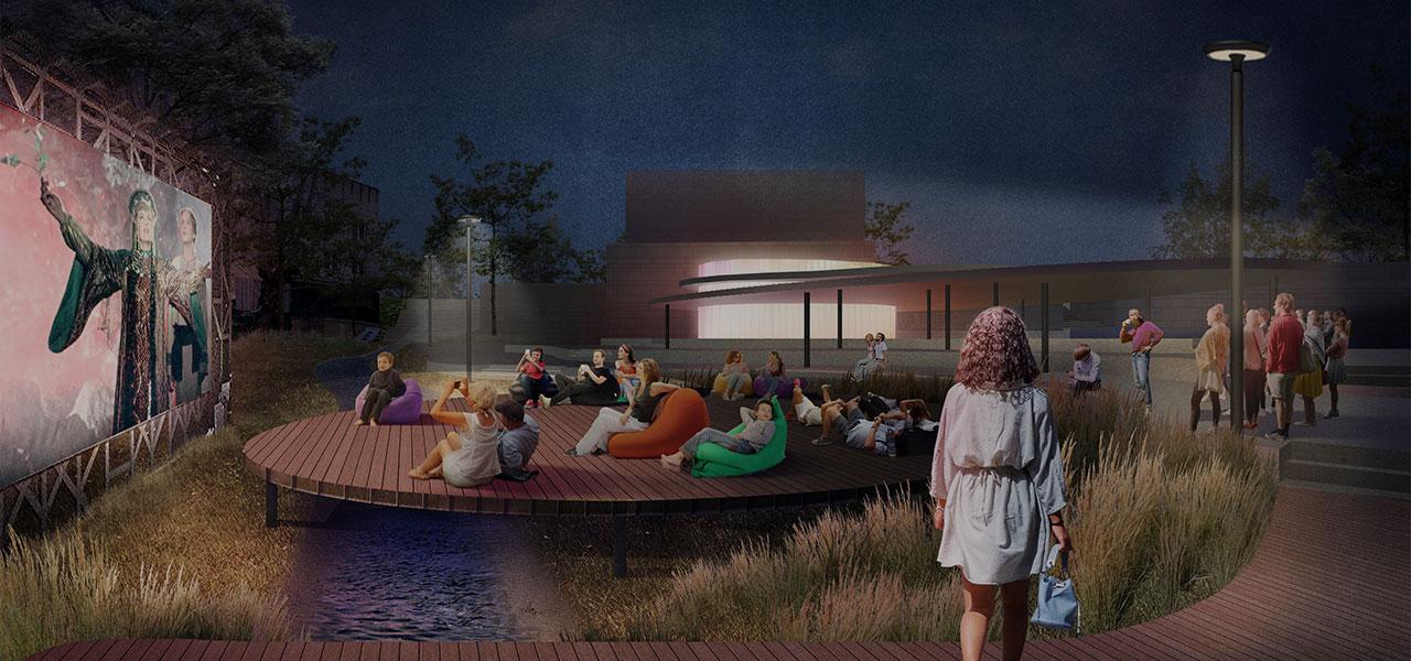 Восстановление городского сада вцентре Читы: возвращаем людям «ощущение реки»